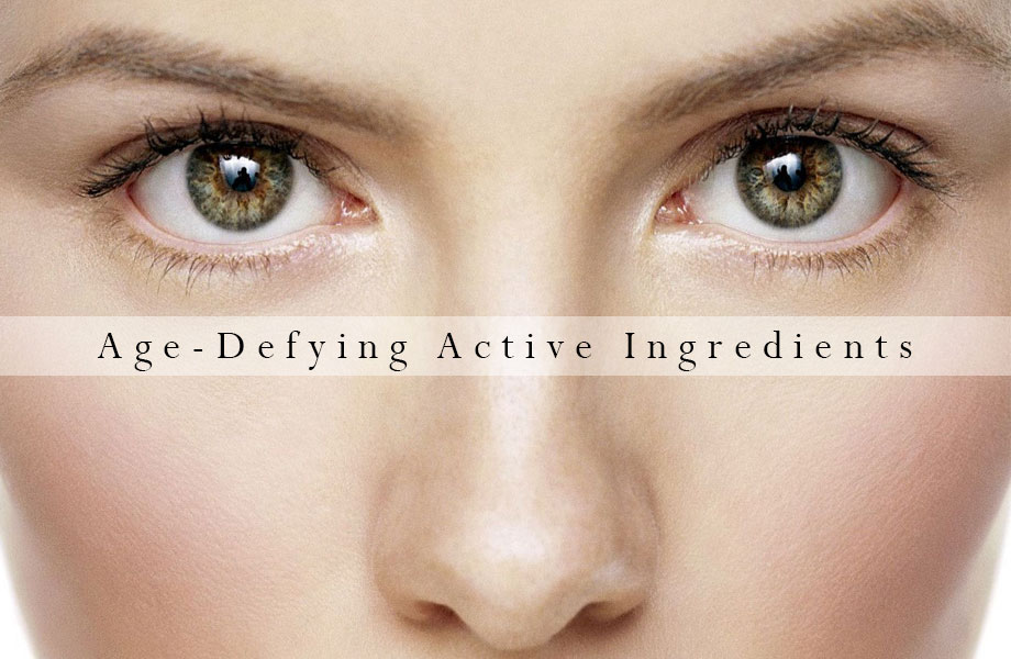 Age-defying active ingredients